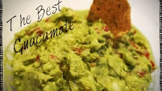 The Best Homemade Guacamole Recipe - Quick, Easy, & Super Yummy!!