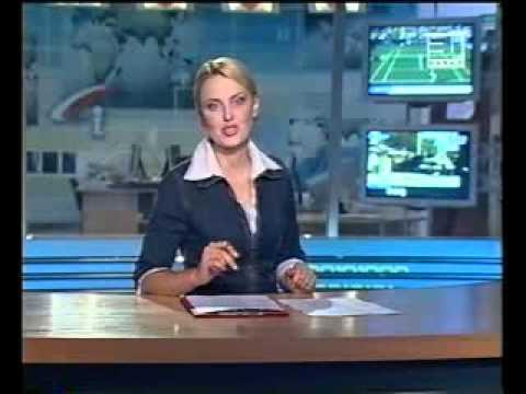 Ведущая новостей опозорилась в прямом эфире!!!