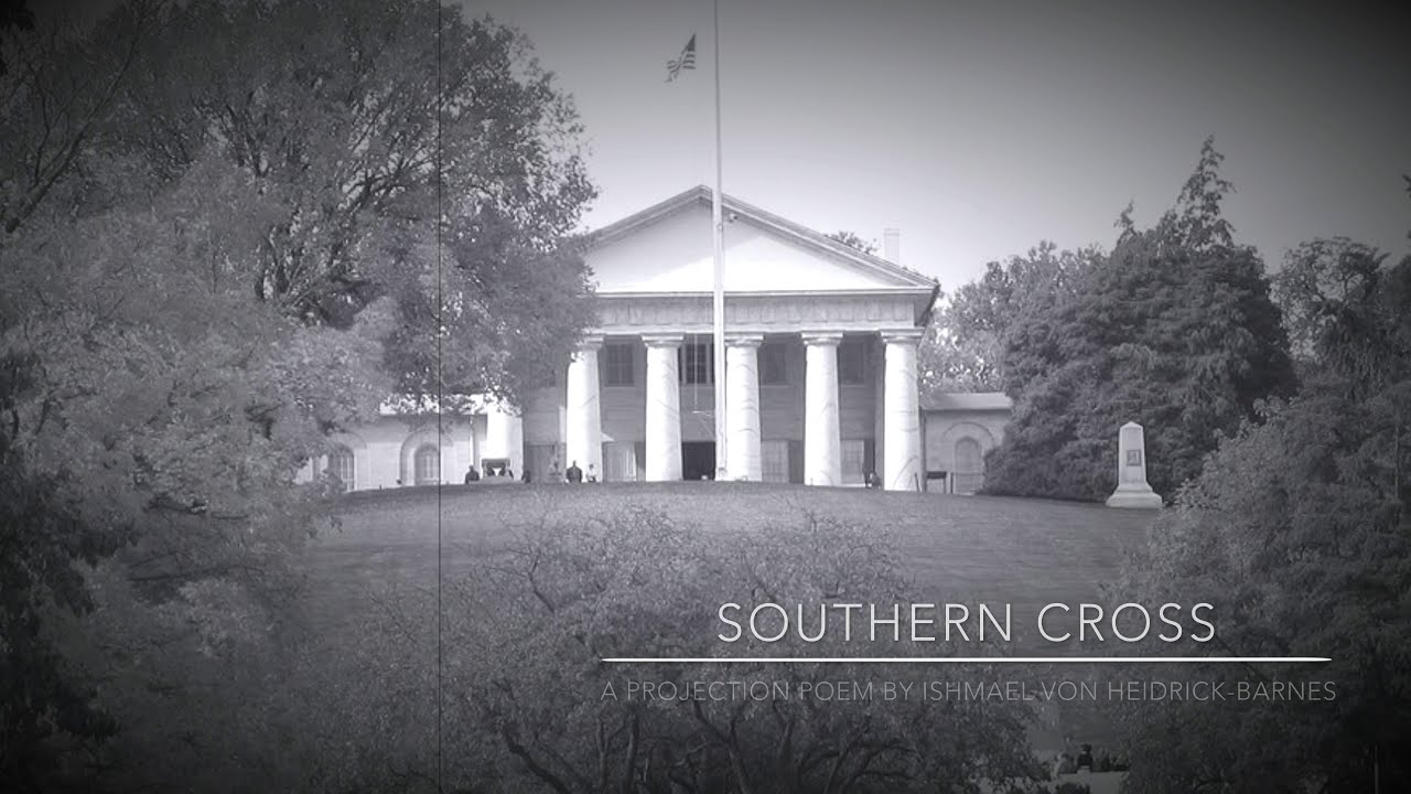 SOUTHERN CROSS:  A Projection Poem by Ishmael von Heidrick-Barnes