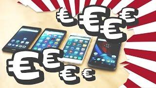 Die besten Top Smartphones unter 300€