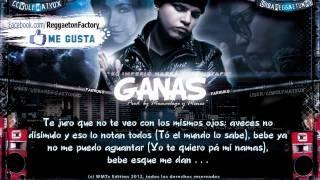 Farruko - 'Ganas' con Letra  ★New Reggaeton 2012★