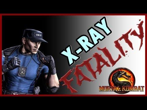 Mortal Kombat 9 Komplete Edition ( PS3 ) : Stryker ( Fatalities + X-RAY )