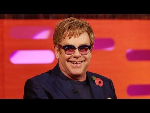 ELTON JOHN Calls Rod Stewart an A**hole - The Graham Norton Show on BBC AMERICA