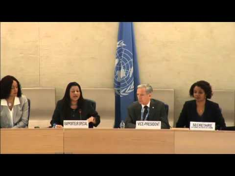 ID  SR on Human Rights in Eritrea   34th Meeting, 31st Regular Session Human Rights Council