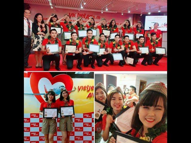 Kinh nghiệm trúng tuyển tiếp viên hàng không Vietjet Air 2018 mới nhất