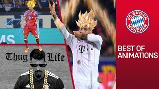 FC Bayern Goals Animated: Super Saiyan Tolisso & Rocket Man Coman