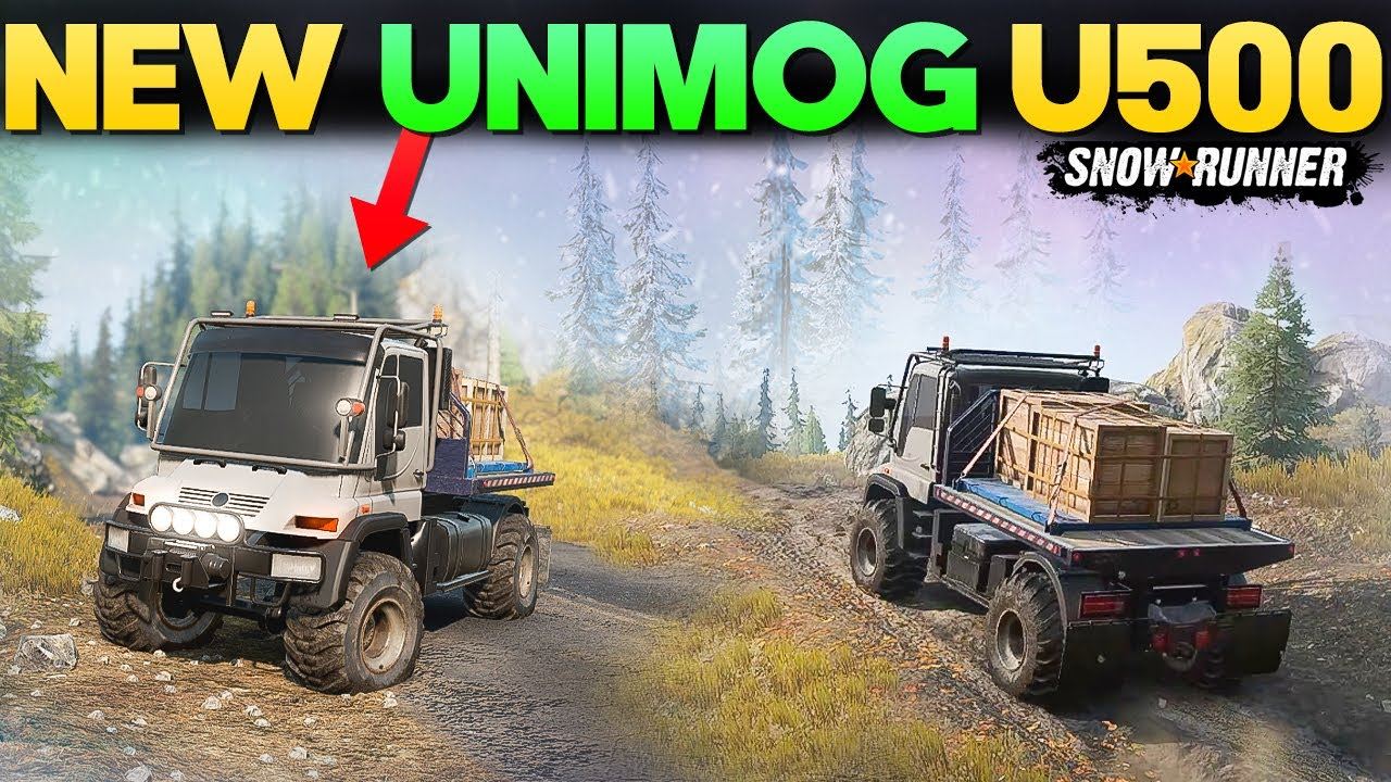 New Truck Silver-Arrows UMG500 in SnowRunner Overview Gameplay