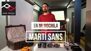 En mi mochila: Martí Sans