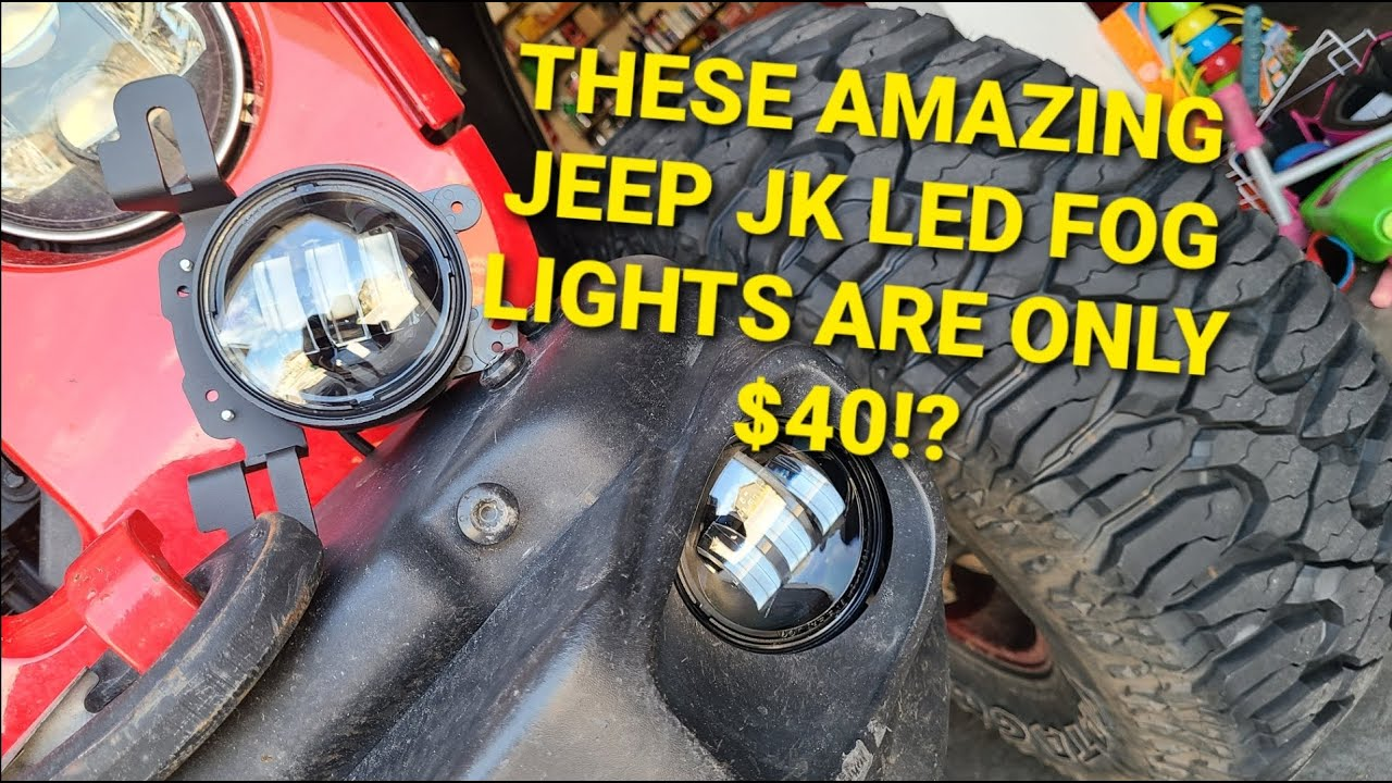 Best Jeep LED Fog Lights and They are Only $40