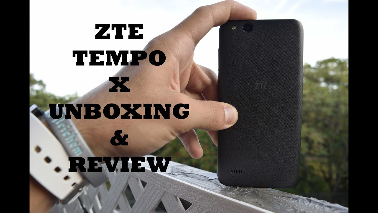 ZTE Tempo X Unboxing and Review