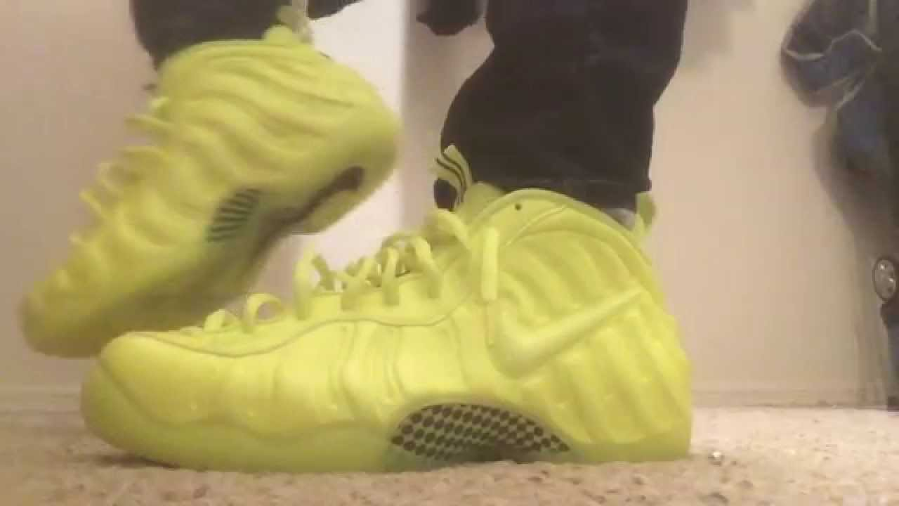 newest 2a61e 2916e Foamposite Pro Volt Review+On Foot