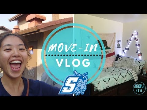 COLLEGE MOVE-IN VLOG | Sonoma State University