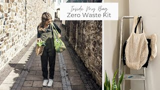 What s In My ZERO WASTE Bag my sustainable essentials kit