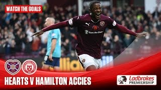 Goals! Hearts get revenge over Accies