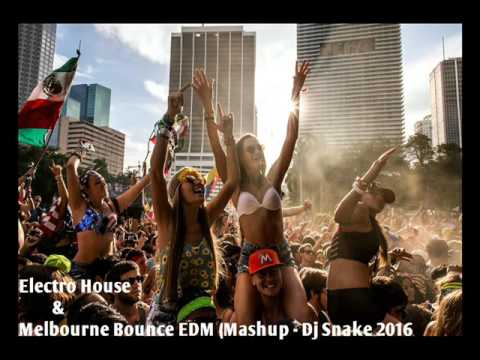 Electro House & Melbourne Bounce EDM  Mashup   Dj Snake 2016