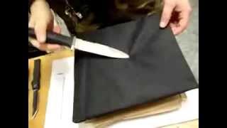 Нож VS. Бронежилет II класса защиты(Пробивание бронежилета ножом., 2013-02-22T15:09:02.000Z)