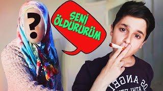 ANNEME SİGARA ŞAKASI !! (BABAMI ARADI)