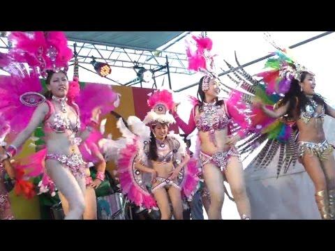 2016神戸港ラテンアメリカン・カーニバル[全編] 右側固定・Kobe port Latin American Carnival・エスコーラ ジ サンバ コウベッコ