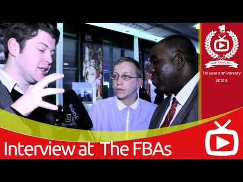 ArsenalFanTV meets Liverpool's RedmenTV at the Footballl Blogging Awards