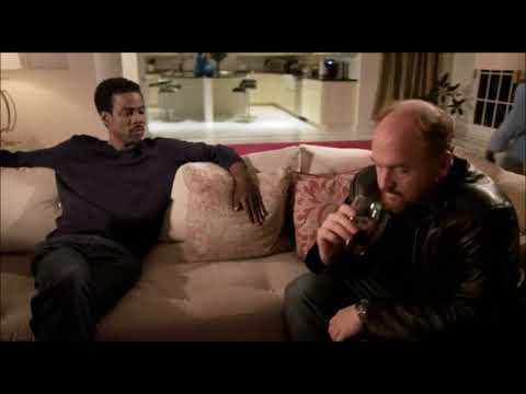 Chris Rock picks Louie up in New Jersey