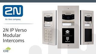 2N Helios IP Verso Modular Door Intercom