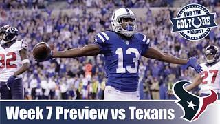 Week 7 Preview: Colts vs Texans | Keys To The Game | Predictions