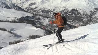 Урок 29 - Как кататься на горных лыжах по буграм?