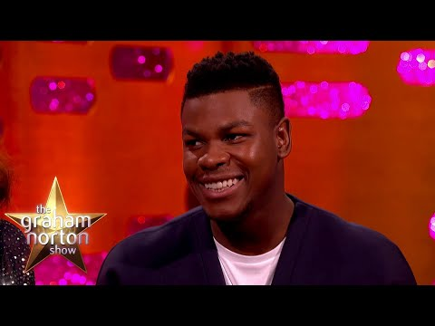 John Boyega Shops A Night To Avoid Being Spotted | The Graham Norton Show Part Two