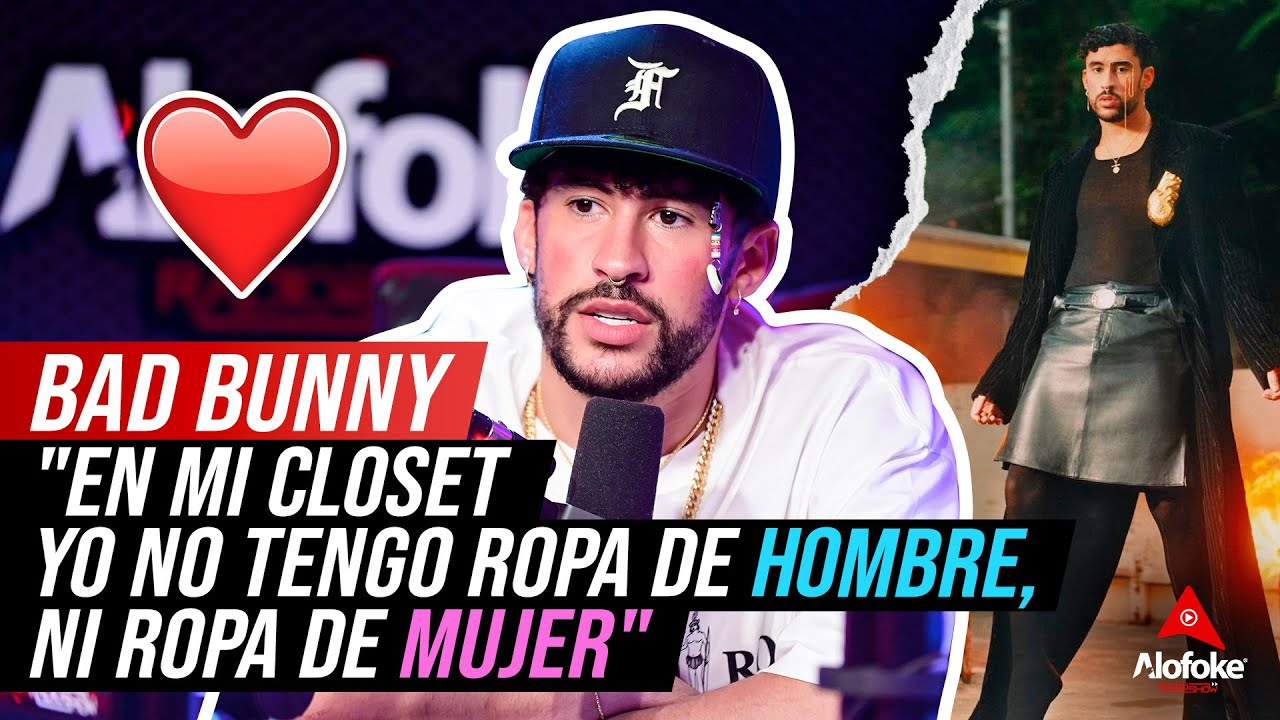 """Download BAD BUNNY: """"EN MI CLOSET YO NO TENGO ROPA DE HOMBRE, NI ROPA DE MUJER"""" (ENTREVISTA HISTORICA)"""