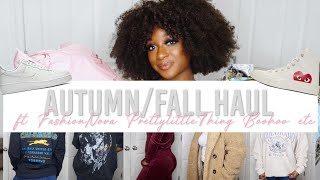 AUTUMN/FALL HAUL | ft. FashionNova, PrettyLittleThing, Boohoo, Nordstrom, AliExpress & more!