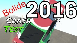 BeamNG.drive Race car crash test 2016