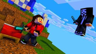 Hackers Are Taking Over BedWars !!! Minecraft PE In Hindi   Nether Games   McpeHindi