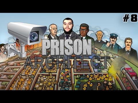 CÁMARAS Y SEGURIDAD  | #8 Prison Architect | Gameplay Español