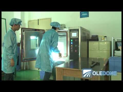 Oledone 10W Cree LED Light Bar Extreme Endurance Test ( Shenzhen Well-Done Technology Presents)