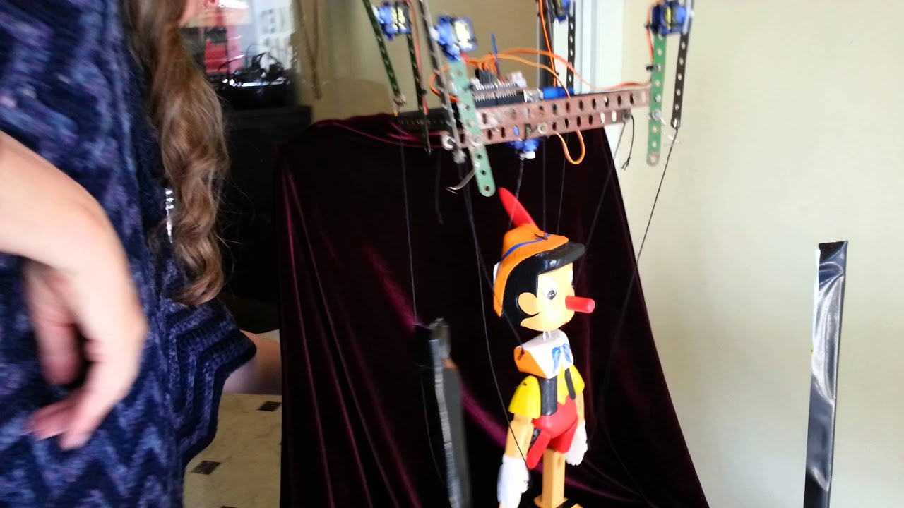how to make a pinocchio marionette