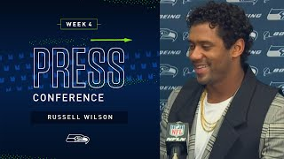 Russell Wilson Postgame Press Conference at Cardinals | 2019 Seattle Seahawks