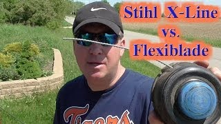 Stihl X-Line vs Oregon Flexiblade -Complete String Trimmer Line Review