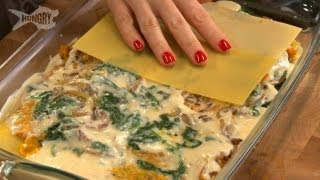 Vegetarian Lasagna With Spinach And Butternut Squash