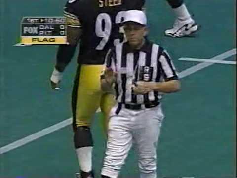 1997 Week 1 Dallas Cowboys at Pittsburgh Steelers