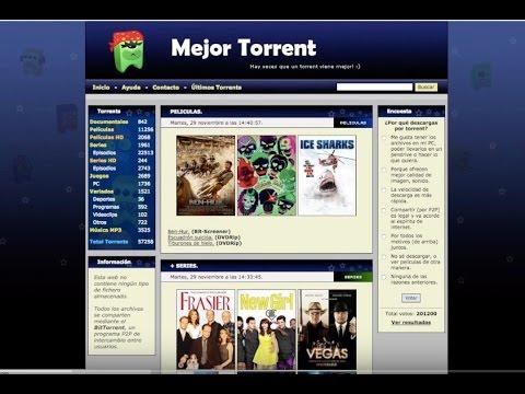 PELICULAS Y JUEGOS GRATIS: MejorTorrent!!!