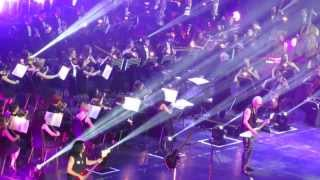 """Wind of Change"" -- ""Scorpions"" with symphonic orchestra (Moscow 2013)"