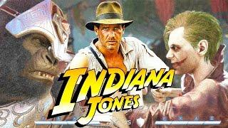 INJUSTICE 2 Indiana Jones Easter Egg Funny Reference