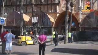 Zwischenfall bei Megapark Umbau