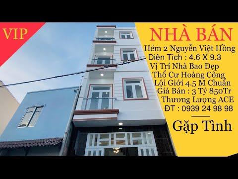 Nhà Bán Cần Thơ   Bán Nhà Trệt Lầu Hẻm 2 Đường Nguyễn Việt Hồng Phường  An Phú Ninh Kiều TP Cần Thơ