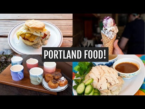 Portland Food, Coffee, & Sights!