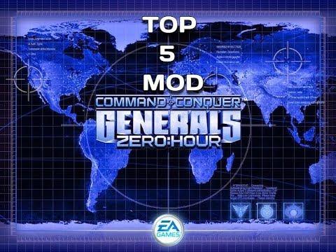 TOP 5 Модов на Generals Zero Hour 1.04