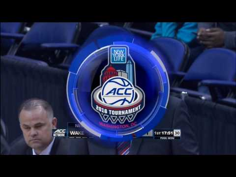 2016.03.08 Wake Forest Demon Deacons vs NC State Wolfpack Basketball (ACCT)