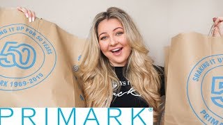 TRY ON TUESDAY: PRIMARK AUTUMN TRY-ON & NEW-IN OCTOBER 2019