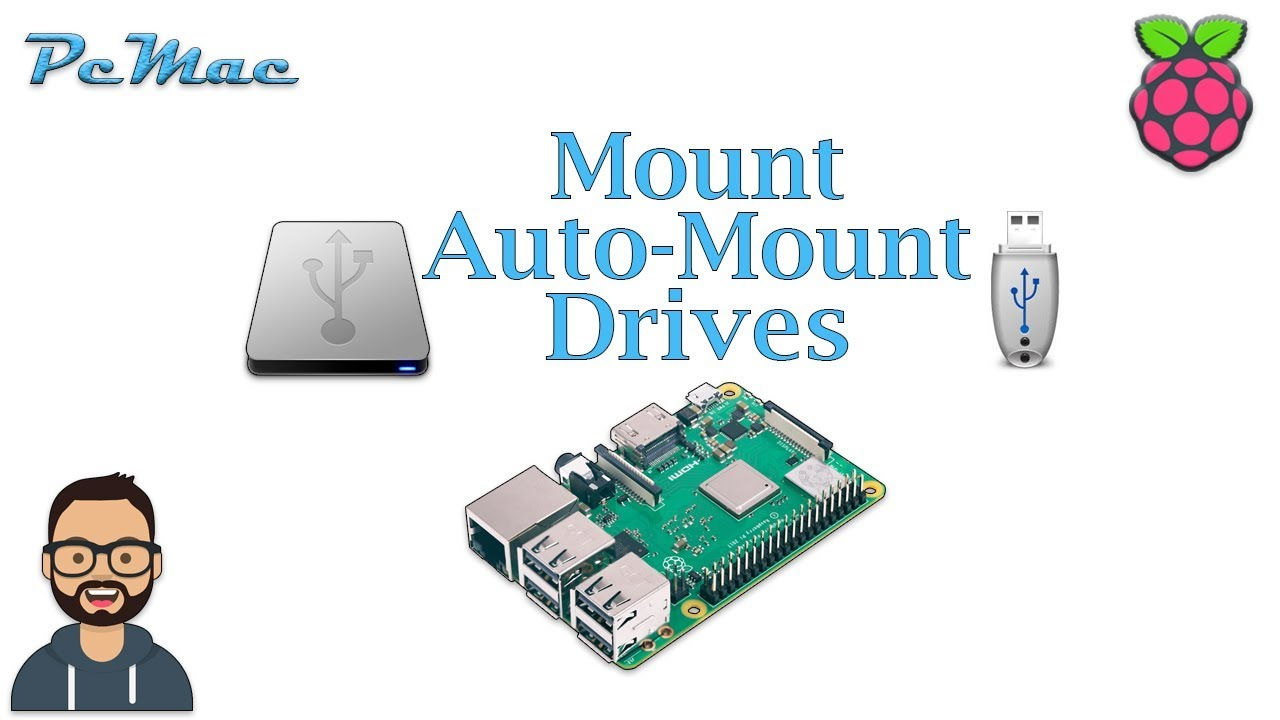 Mount and Auto-Mount Drives on Raspberry Pi