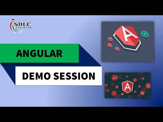 SDLC Training | Angular Demo Video | Best Angular Training